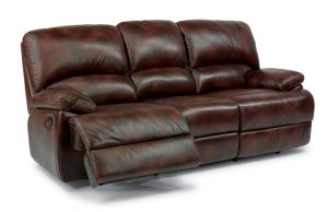 Flexsteel Dylan Leather Reclining Living Room Collection-0