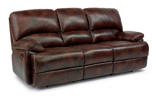 Flexsteel Dylan Leather Reclining Living Room Collection-5067