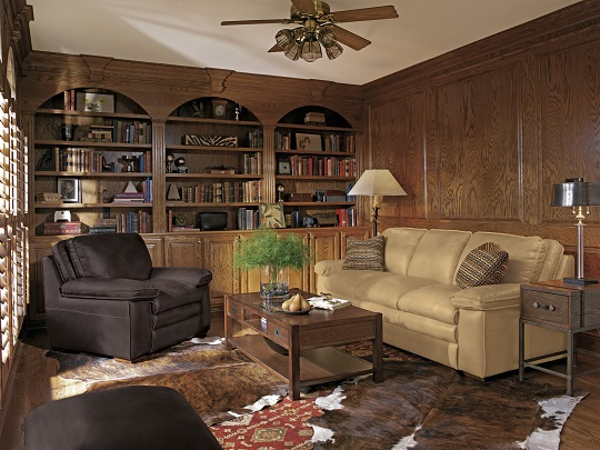 Flexsteel Penthouse Leather Living Room Collection-5173