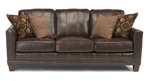 Flexsteel Port Royal Leather Living Room Collection-5181