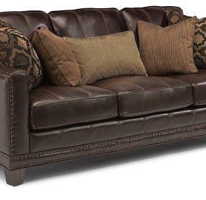 Flexsteel Port Royal Leather Living Room Collection-0