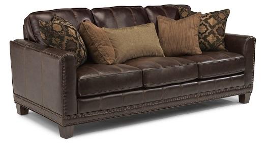 Flexsteel Port Royal Leather Living Room Collection-0