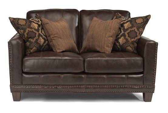 Flexsteel Port Royal Leather Living Room Collection-5182
