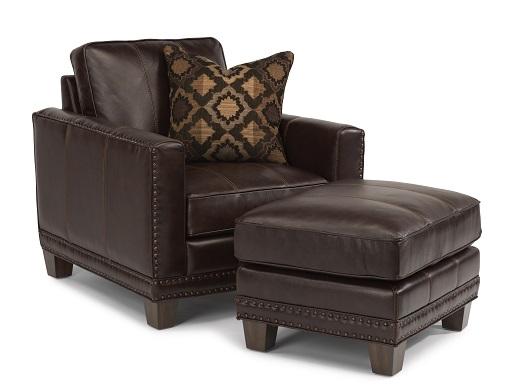 Flexsteel Port Royal Leather Living Room Collection-5183