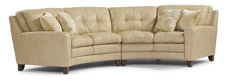 Flexsteel South Street Leather Living Room Collection-5210