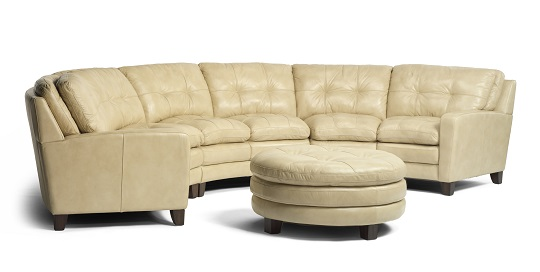Flexsteel South Street Leather Living Room Collection-5209