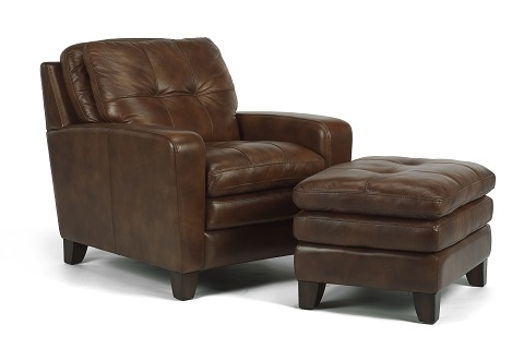 Flexsteel South Street Leather Living Room Collection-5206