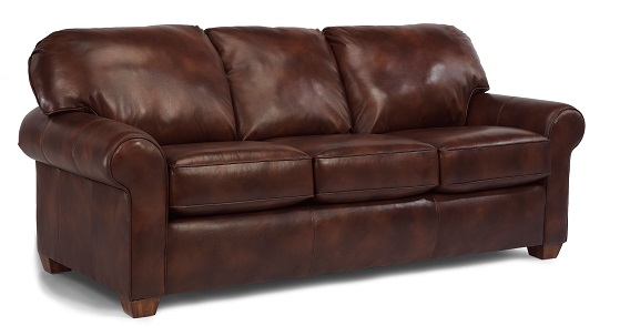 Flexsteel Thornton Leather Living Room Collection-0