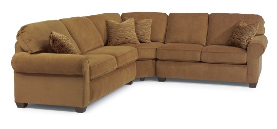 Flexsteel Thornton Leather Living Room Collection-5235