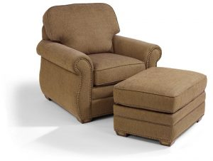 Flexsteel Whitney Chair and Ottoman-0