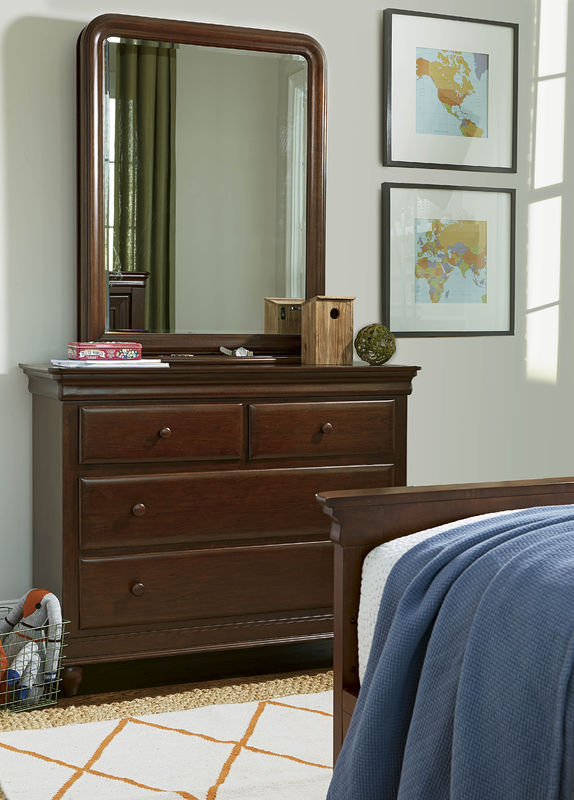 Smartstuff by Universal Classics 4.0 Bedroom Collection in Cherry Finish-6907