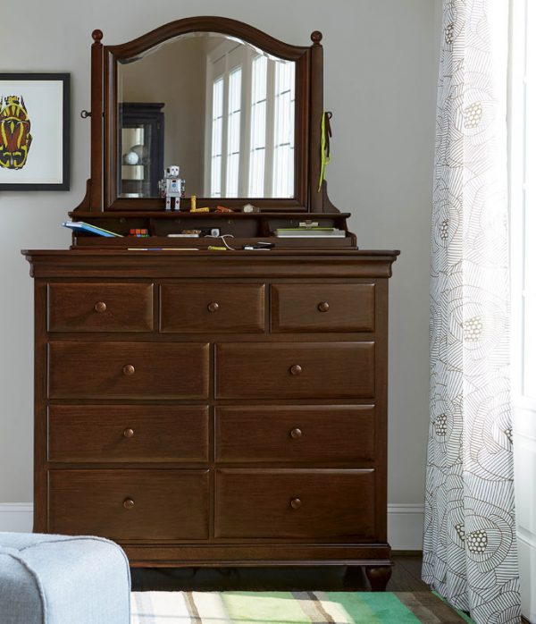 Smartstuff by Universal Classics 4.0 Bedroom Collection in Cherry Finish-6904