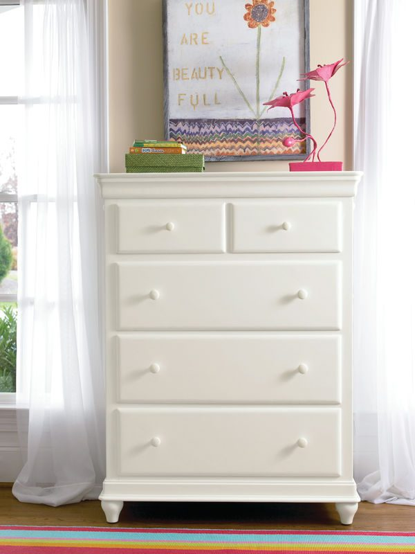 Smartstuff by Universal Classics 4.0 Bedroom Collection in Summer White Finish-6874