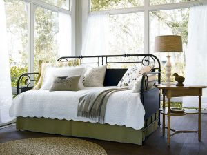 Down Home Bedroom with Garden Gate Metal Bed by Paula Deen Home