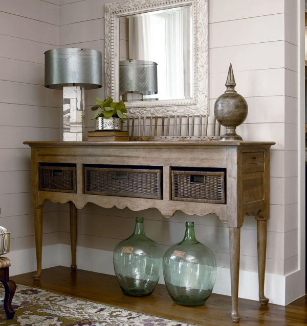 Universal Furniture Down Home Accent Table Collection by Paula Deen Home-7573