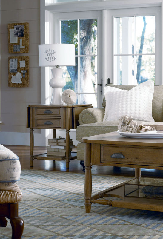 Universal Furniture Down Home Accent Table Collection by Paula Deen Home-7576