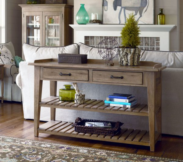 Universal Furniture Down Home Accent Table Collection by Paula Deen Home-7574