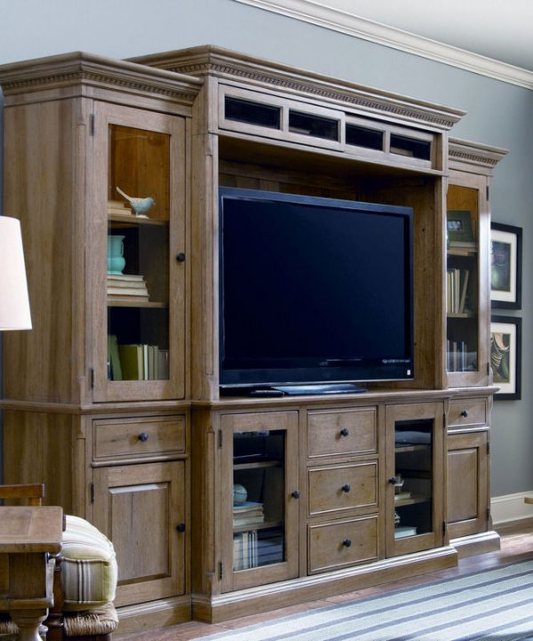 Down Home Entertainment Wall System by Paula Deen Home
