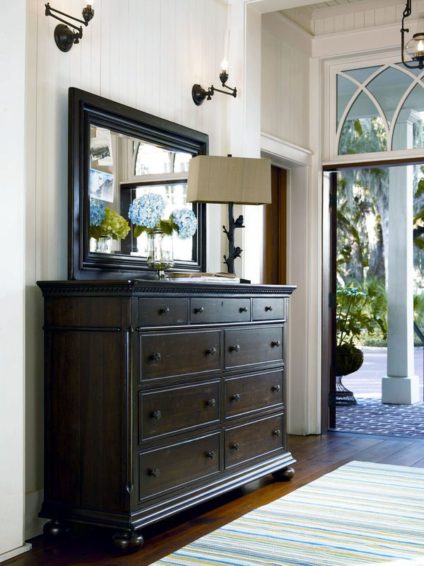 Universal Furniture Down Home Bedroom in Molasses Finish by Paula Deen Home-7118