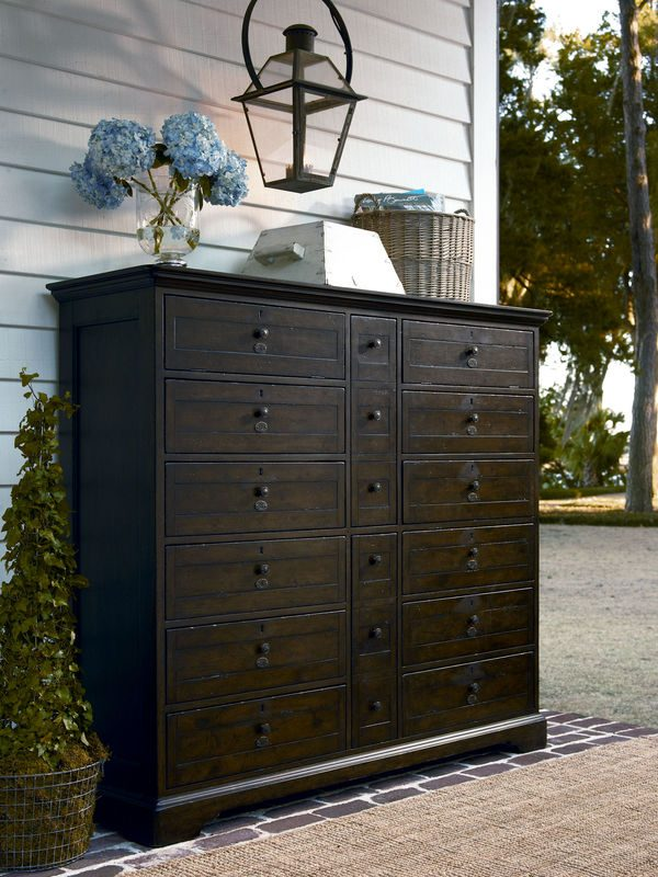 Universal Furniture Down Home Bedroom in Molasses Finish by Paula Deen Home-7121