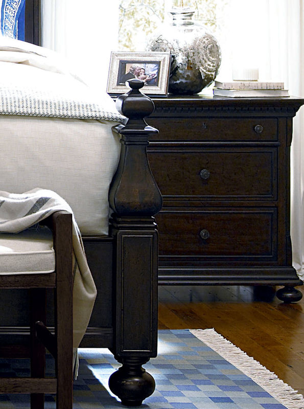 Universal Furniture Down Home Bedroom in Molasses Finish by Paula Deen Home-7120