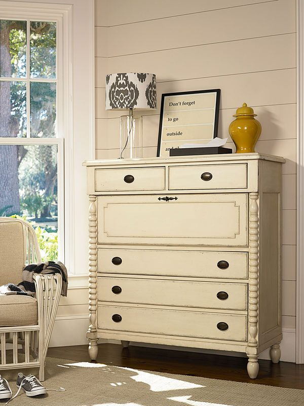 Universal Furniture Paula Deen Home River House Bedroom with Low Post Bed-7291