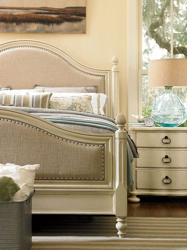 Universal Furniture Paula Deen Home River House Bedroom with Low Post Bed-7292