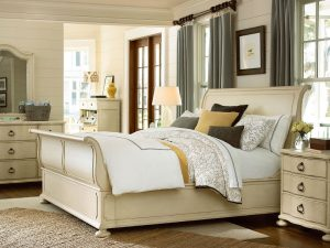 Universal Furniture Paula Deen Home River House Bedroom with Sleigh Bed-0