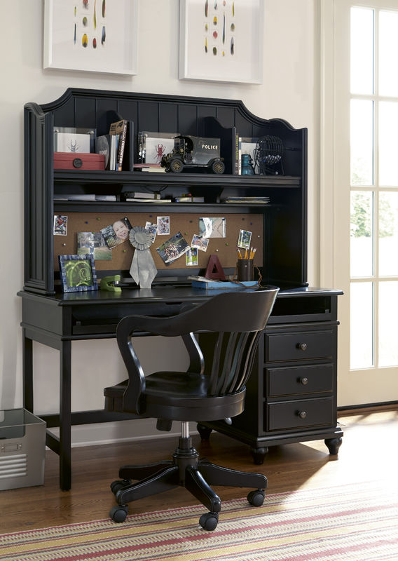 Smartstuff by Universal Black and White Bunk Beds in Black Finish-6809