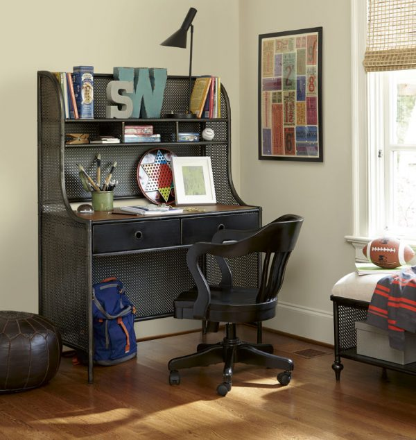 Smartstuff by Universal Black and White Bunk Beds in Black Finish-6813