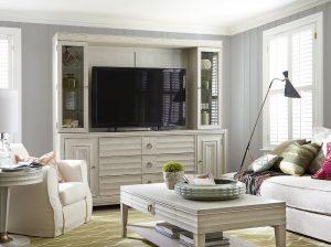 Universal Furniture California Malibu Entertainment Wall System