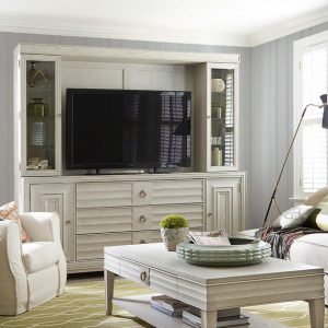 Universal Furniture California Malibu Entertainment Wall System