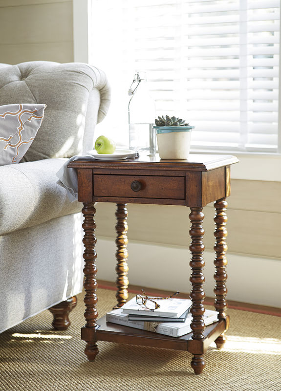 Universal Furniture Paula Deen Home Dogwood Accent Table Collection-7746