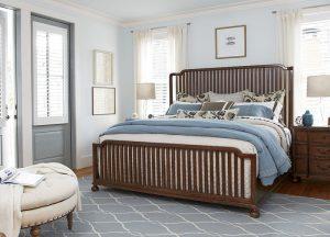 Universal Furniture Paula Deen Home Dogwood Bedroom with Tybee Island Bed-0