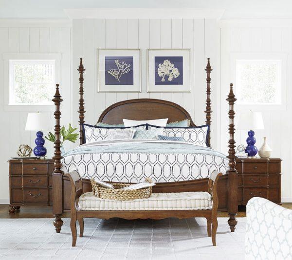 Universal Furniture Paula Deen Home Dogwood Bedroom Collection-7256