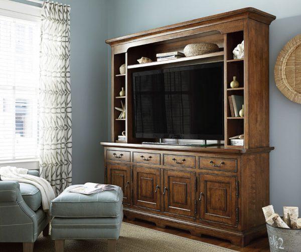 Paula Deen Home Dogwood Entertainment Wall System