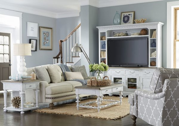 Universal Furniture Paula Deen Home Dogwood Entertainment Wall System-7759