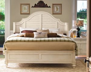 Universal Furniture Paula Deen Home Bedroom Collection with Steel Magnolia Bed-0