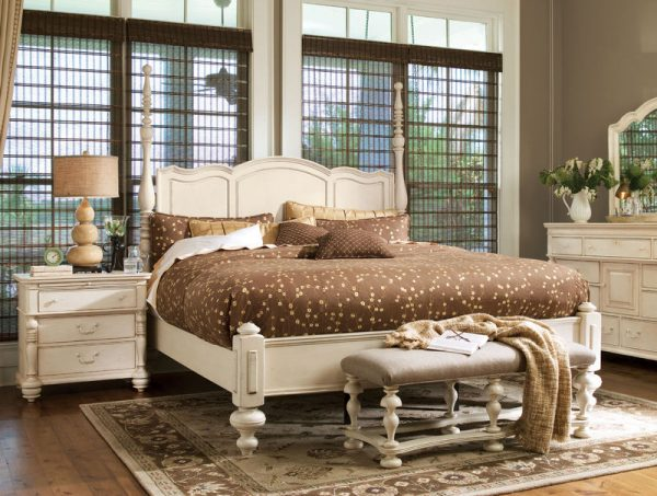 Universal Furniture Paula Deen Home Bedroom Collection with Savannah Poster Bed-0