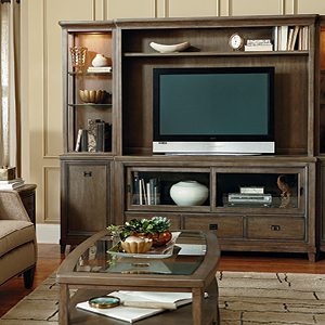 American Drew Park Studio Entertainment Wall Unit-0