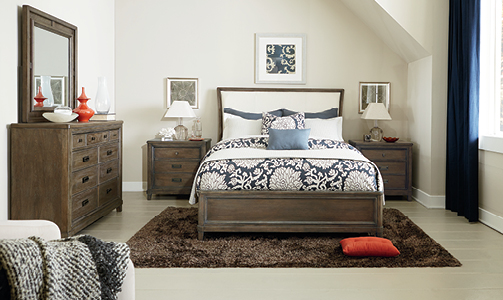 American Drew Park Studio Bedroom Collection -6600