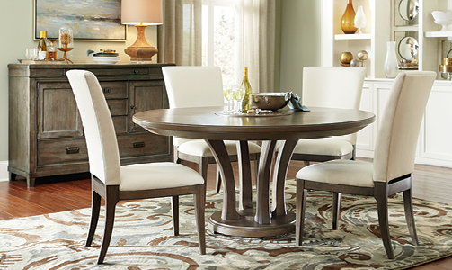 American Drew Park Studio Dining Room Collection with Round Table-0