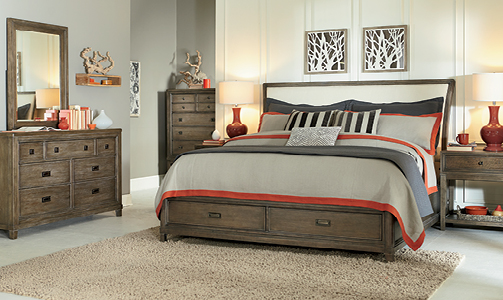 American Drew Park Studio Bedroom Collection -0