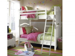 Smartstuff by Universal Classics 4.0 Bunk Beds in Summer White Finish-0
