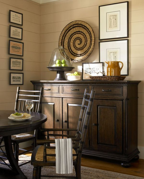 Universal Furniture Down Home Dining Room by Paula Deen Home in Molasses Finish-7623