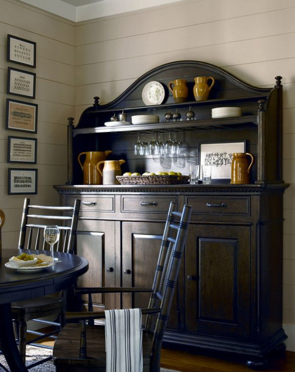 Universal Furniture Down Home Dining Room by Paula Deen Home in Molasses Finish-7621