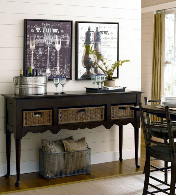 Universal Furniture Down Home Dining Room by Paula Deen Home in Molasses Finish-7622