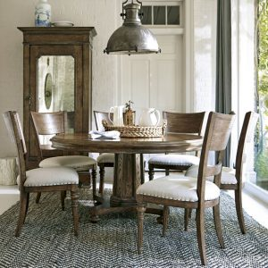 Universal Furniture New Bohemian Dining Room with Round Table-0