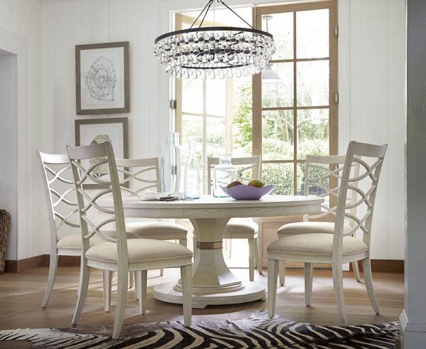 Universal Furniture California Malibu Dining Room with Round Table-0