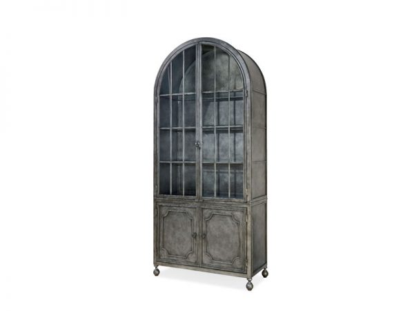Universal Furniture Remix Metal Display Cabinet-7737
